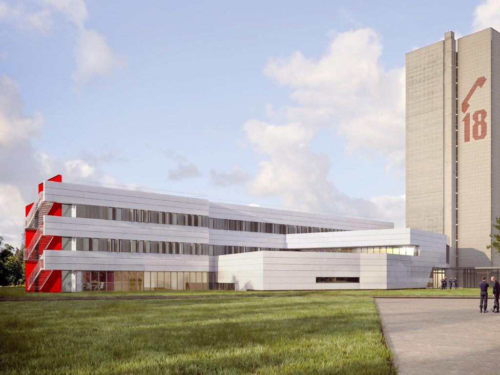 Hesters Barlatier Architectes Recomposition Site De Melun Pour Le Sdis 77