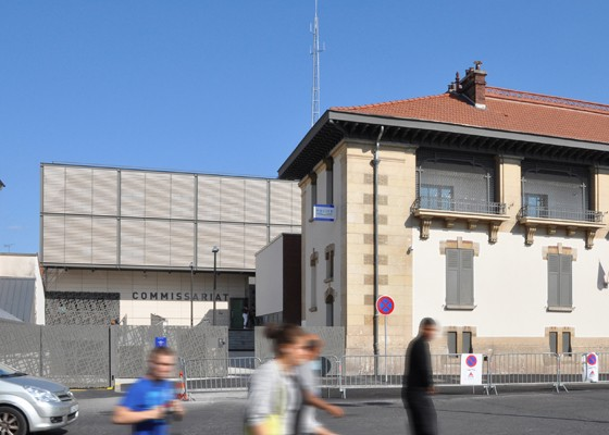 Construction du Commissariat de Police du Raincy-Villemomble